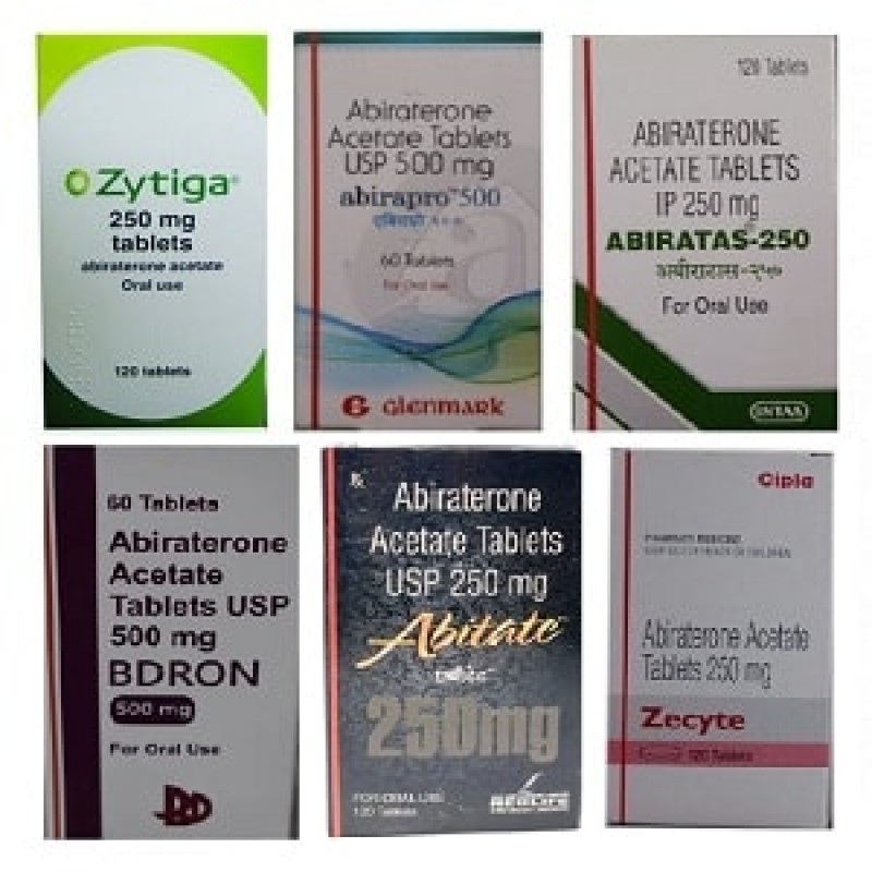 Abiraterone Acetate Tablets Brands
