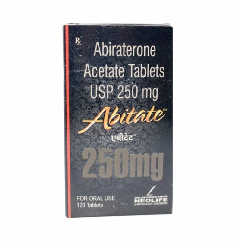 Abitate 250mg Tablets, Abiraterone Acetate