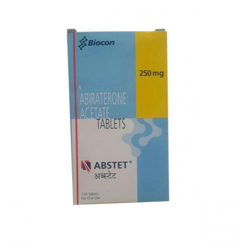 Abstet 250mg Tablets, Abiraterone Acetate