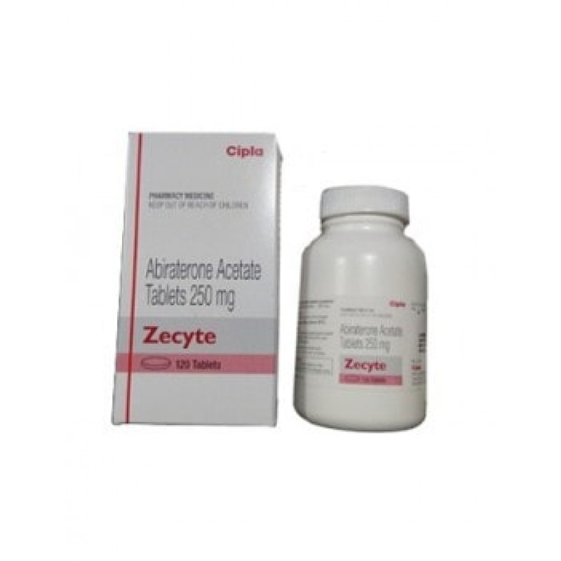 Zecyte 250mg Tablets, Abiraterone Acetate