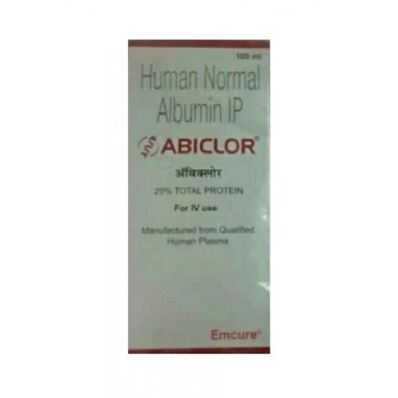 Abiclor 100ml Albumin Injection