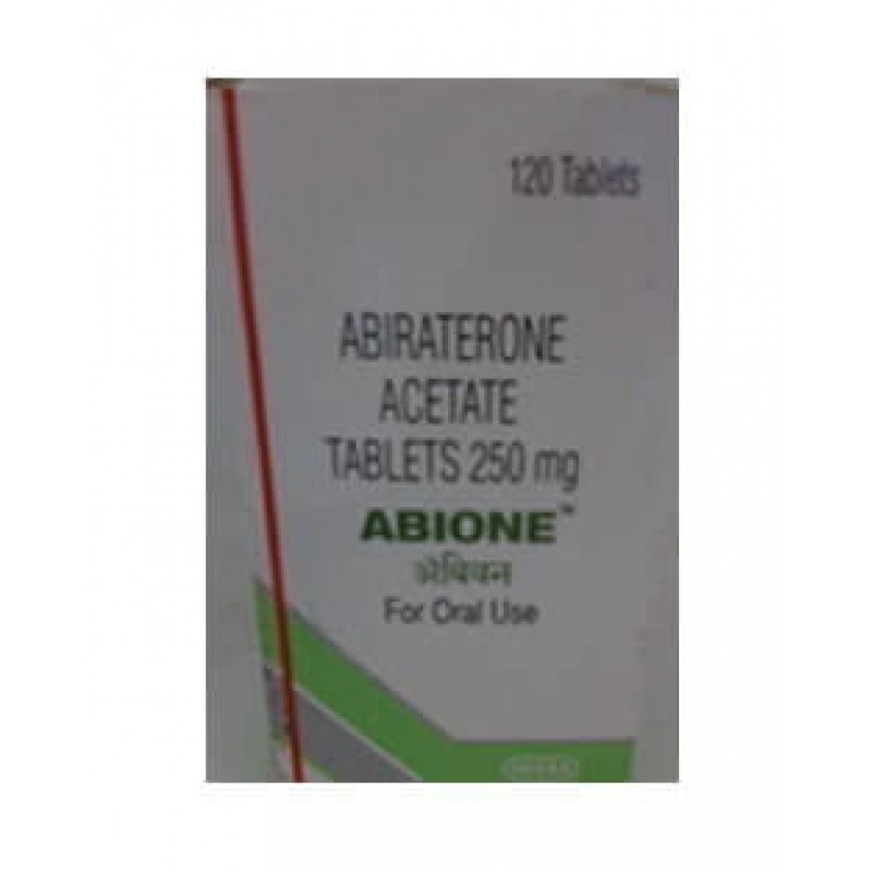 Abione 250mg Tablets, Abiraterone Acetate