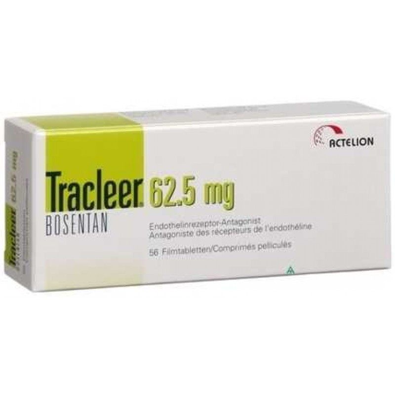 Tracleer 62.5mg Tablets, Bosentan