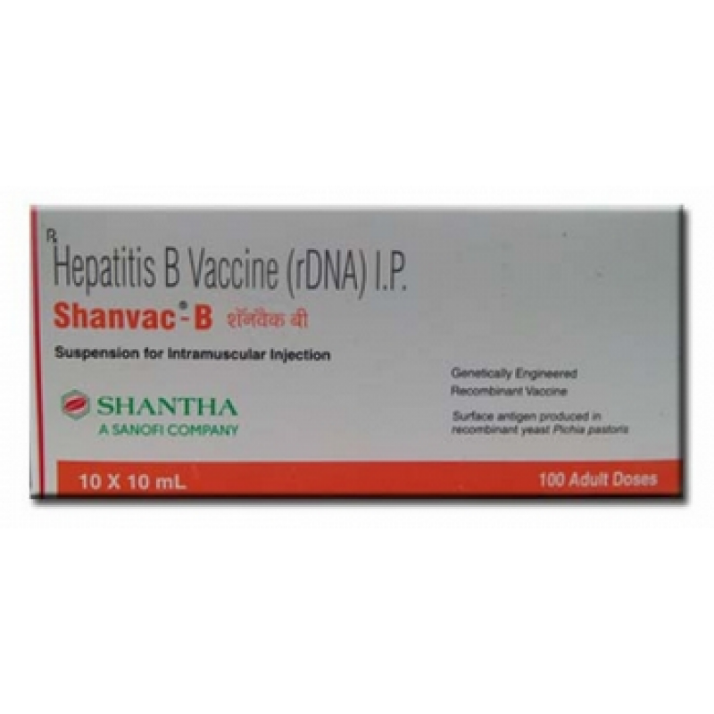 Shanvac-B Hepatitis B vaccine